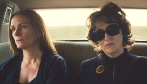 Julia Roberts and Meryl Streep in August: Asage County