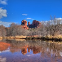 Cathedral Rock (HDR)