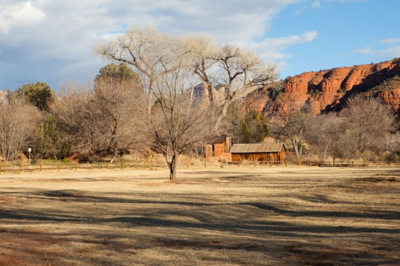 Park near Cathedral Rock