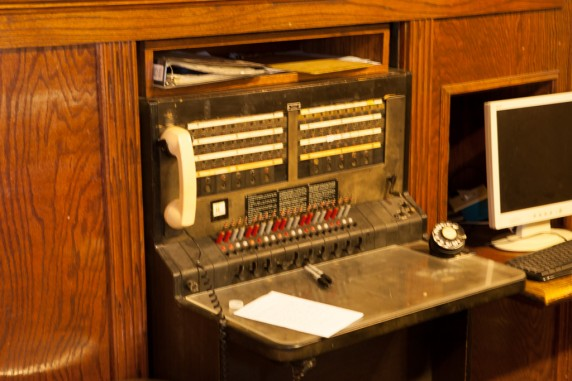 Jerome - Vintage Switchboard inside the Jerome Grand Hotel