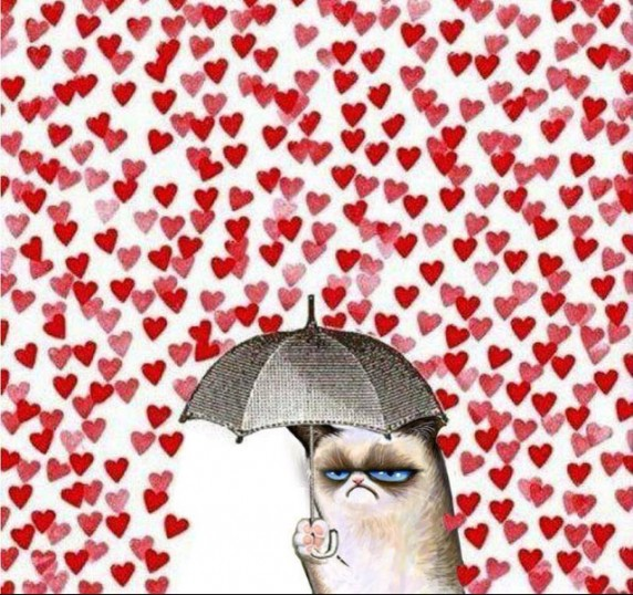 Valentines Grumpy Cat 572x538 photo in the post: For All of My Single Friends, at www.timtyson.us