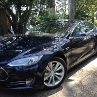 Nick Tesla Model S Front Parking Pad