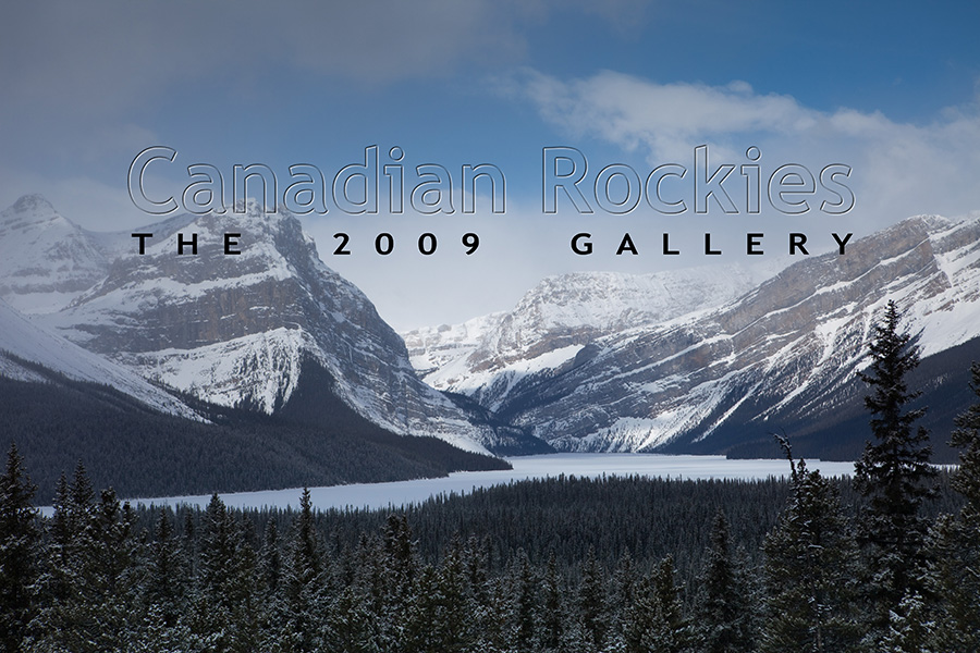 My Canadian Rockies Photo Gallery, 2009