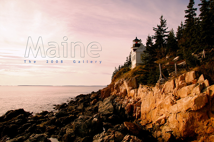 My Maine Photo Gallery, 2008