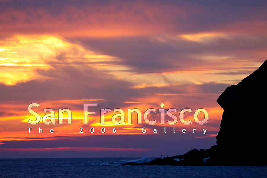 My San Francisco Photo Gallery, 2008