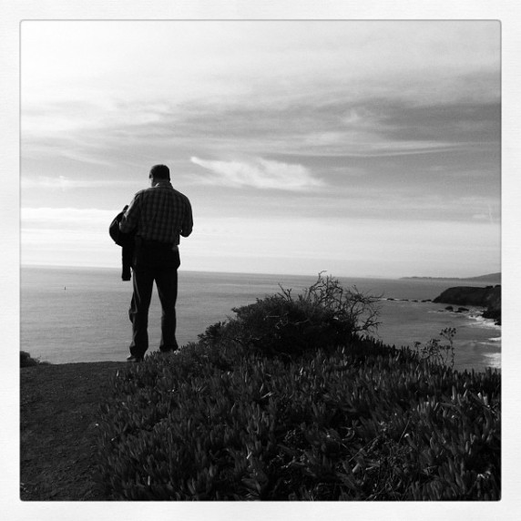 Tim Shooting an Instagram at the Marin Headlands